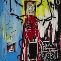 """Basquiat, il suo """"ciclope"""" all'asta per 20 milioni"""