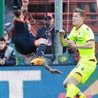 Genoa-Bologna, il film della partita
