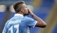 """Decide Immobile /   Pagelle      Inzaghi:  """"Preziosa""""    foto"""