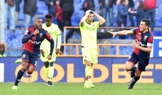 Genoa-Bologna 1-1: Ntcham entra e salva la prima di Mandorlini