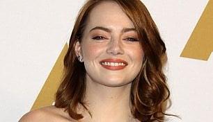 """La favorita Emma Stone: """"Realizzo un sogno"""""""
