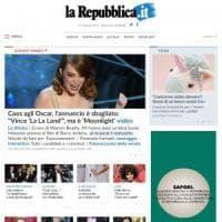 La nuova homepage di Repubblica.it: la home degli italiani