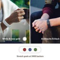 Hey, il braccialetto smart: ora l'amore ti 'tocca' a distanza