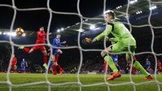 Tifosi con Ranieri fotoma il Leicester torna a vincere: 3-1 al Liverpool