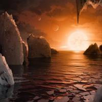 Trappist-1, la (possibile) vita su un esopianeta: anni brevi e giorni bui