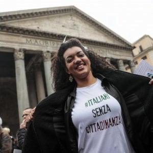 L'Italia sono anch'io: a Roma in piazza per i diritti dei senza cittadinanza