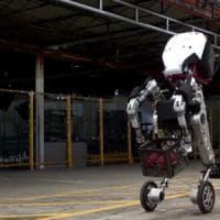 Handle, così il super robot di Google salta gli ostacoli