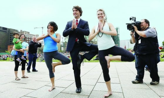 Justin Trudeau, il nuovo eroe del look
