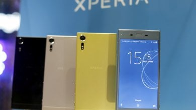 Una fotocamera con ''effetto wow'' Sony Xperia XZ va indietro nel tempo   video