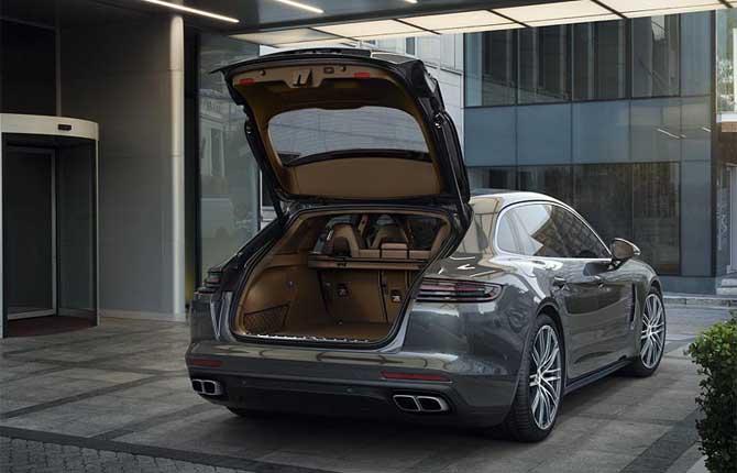 Panamera Sport Turismo, la wagon secondo Porsche