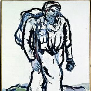 """Georg Baselitz: """"I miei guerrieri fragili nelle paure del mondo di oggi"""""""