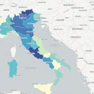 La mappa della popolazione che cambia in Italia
