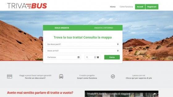 Trivabus: in pullman a meno di 1 euro non è più utopia