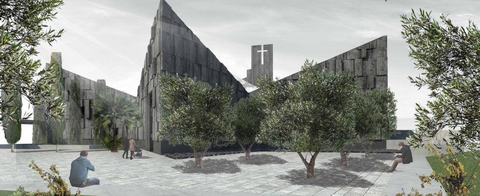 A Salerno nasce una chiesa green che cattura lo smog come un bosco