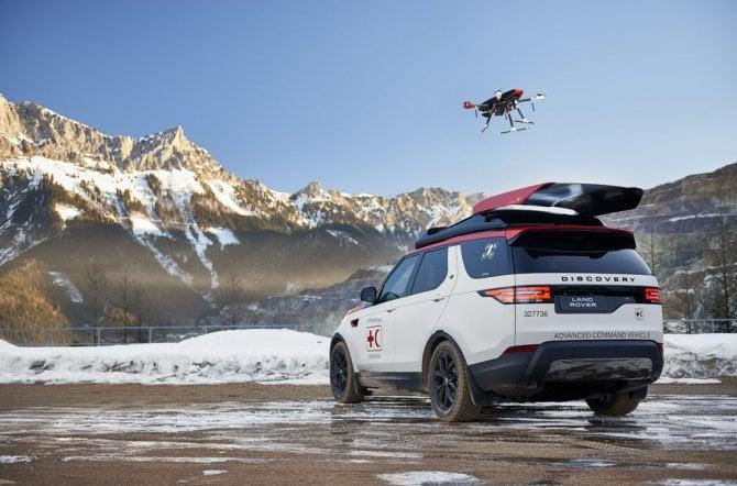 """""""Project Hero"""", la Land Rover col drone per la Croce Rossa austriaca"""