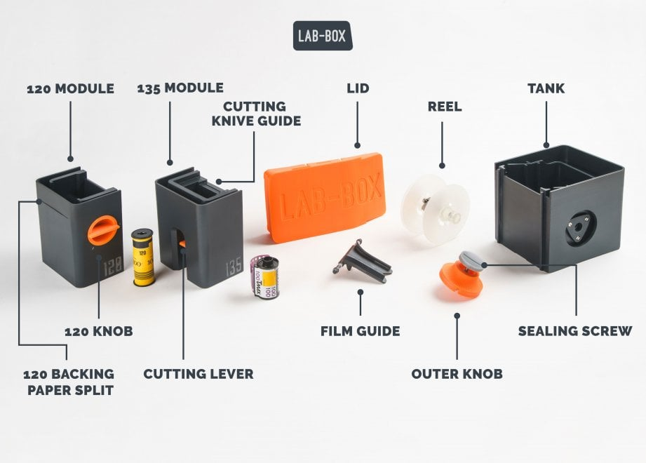 Lab-Box, il dispositivo per sviluppare pellicola