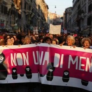 """Otto marzo, """"Dalla festa alla lotta vera contro le violenze: Non una di meno"""""""