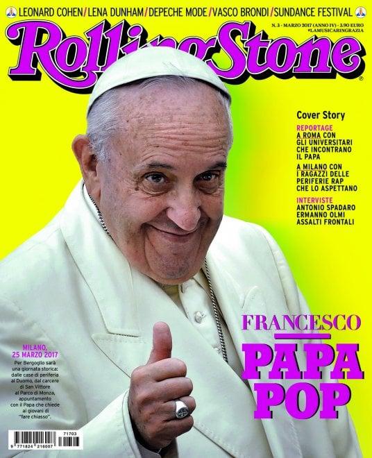 Francesco ''Papa pop'': Bergoglio sulla copertina di Rolling Stone