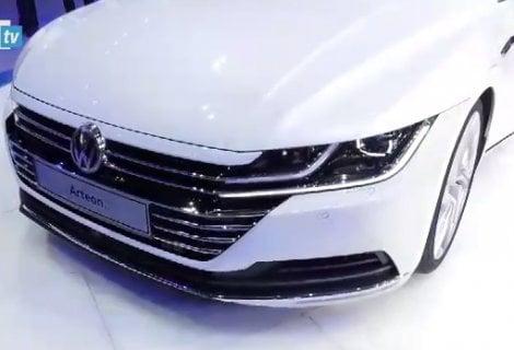 Ginevra 2017, Arteon l'ammiraglia Volkswagen