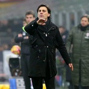 """Milan, Montella: """"Furore per battere la Juve"""" . Closing: verifiche ok, si va verso una proroga"""