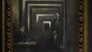 """Hitler pittore in mostra nel 'Museo della Follia' di Salò, Sgarbi: """"E' il quadro di un disperato"""""""