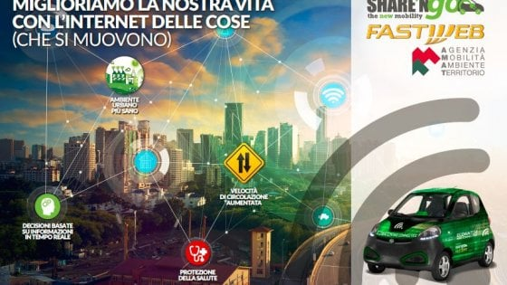 Idea Sharengo: misurare l'inquinamento con il car-sharing