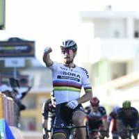 Tirreno-Adriatico, Sagan domina lo sprint: Dennis nuovo leader