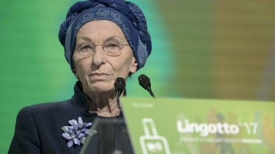 Pd al Lingotto: Emma Bonino, l'ospite pericolosa sveglia la sinistra assopita