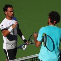Tennis, Indian Wells: Fognini piega Tsonga e vola agli ottavi. Subito fuori Murray