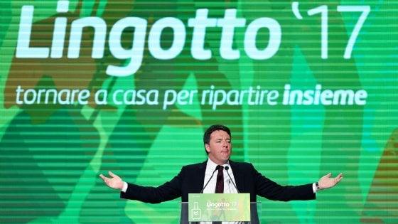 """Lingotto, ultima giornata, Renzi: """"Qualcuno ha provato a distruggere il Pd"""""""