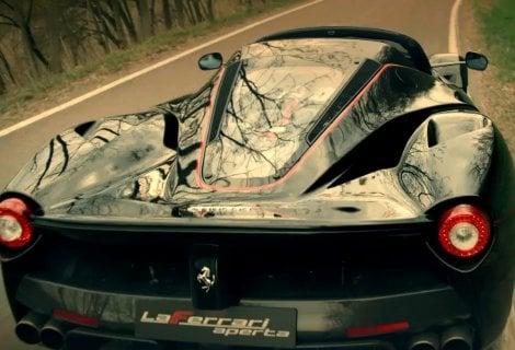 Ferrari: il video per il 70° anniversario