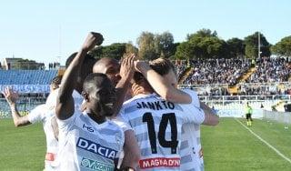 Pescara-Udinese 1-3, il boemo che fa festa è Jankto: due assist e un gol per affondare Zeman