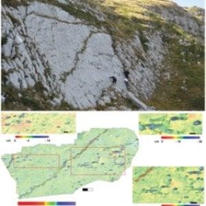Abruzzo, le nuove orme del dinosauro più grande d'Italia. Ricostruite con un drone