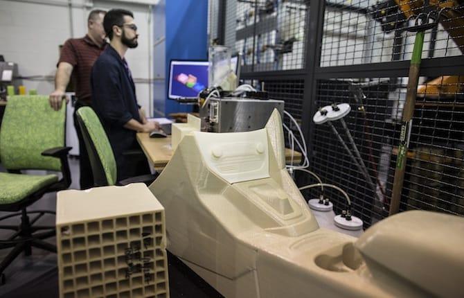Componenti a grandezza naturale: Ford studia la stampa 3D