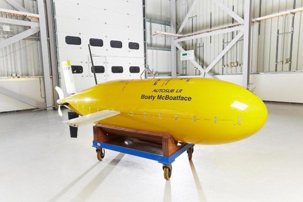 Boaty McBoatface, il sottomarino giallo che esplorerà l'Antartide