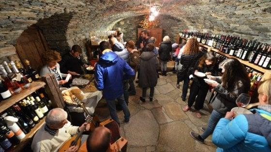 """""""Cantine Aperte"""", e il mondo del vino in Valle d'Aosta"""