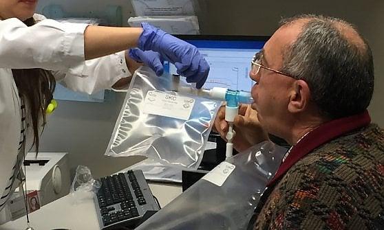 """""""Un test del respiro  per diagnosticare il cancro"""""""