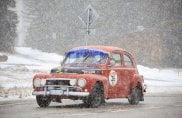 WinterRace, le auto d'epoca fanno spettacolo sulle Dolomiti