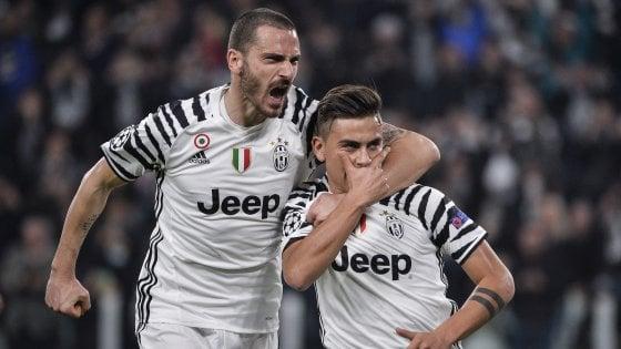 Juventus, Dybala sempre più uomo dei gol pesanti. Bonucci: ''Ora il Barça per vendicare ko Berlino''