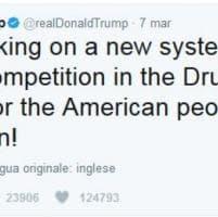 I tweet di Trump che hanno scosso il mercato