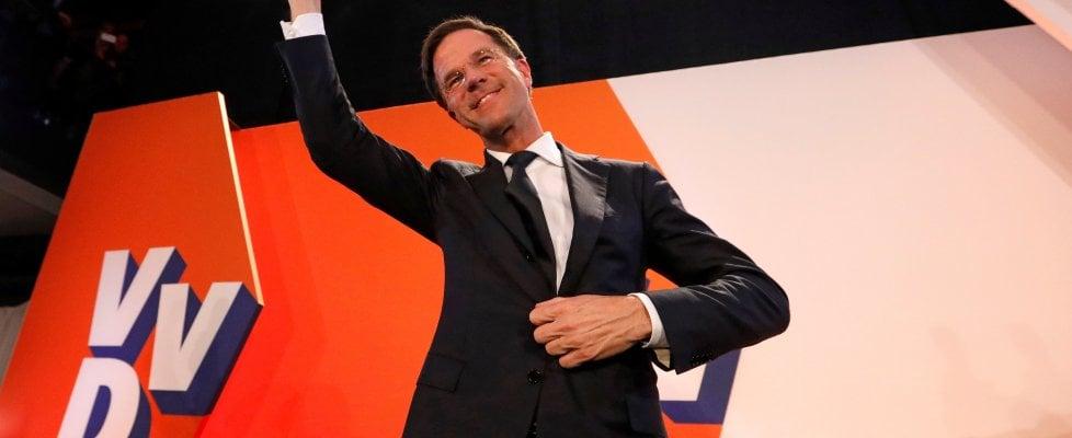 """Elezioni in Olanda, vincono i liberali di Rutte. Wilders respinto: """"Non vi siete liberati di me"""""""