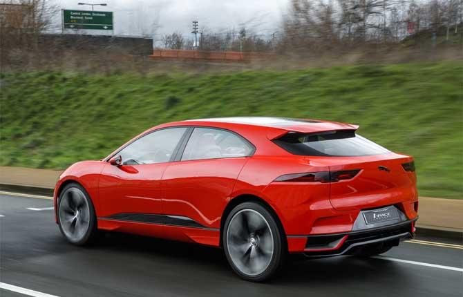 I-Pace Concept, il Suv elettrico Jaguar prende vita