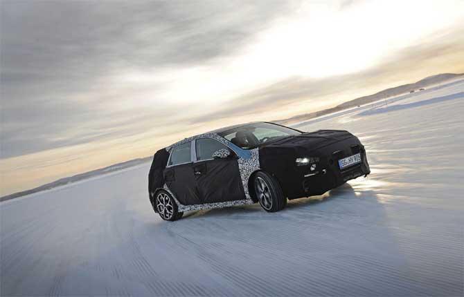 "Nuova Hyundai i30 N al festival dei ""traversi"""