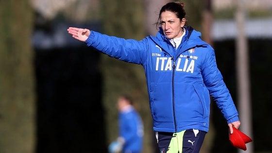 Italia-Germania Under 16, in panchina c'è Patrizia Panico: è la prima donna ad allenare gli uomini