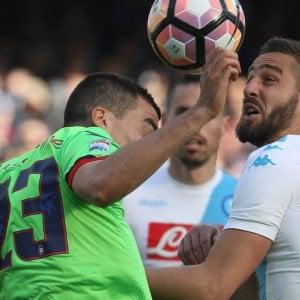 """Napoli, ossessione Champions. Pavoletti: """"Daremo tutto"""""""