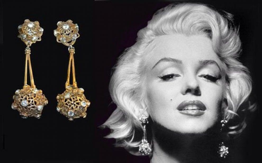 Marilyn Monroe, gioielli e cimeli all'asta. C'è anche il portasigari di Gable