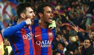 Champions, il tridente del Barcellona fa sempre paura
