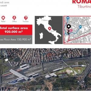 Real Estate Fs: da Milano Farini a Tiburtina, le aree in disuso che Ferrovie vuole vendere