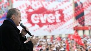 """Appello di Erdogan ai turchi in Ue: """"Fate almeno 5 figli, il futuro è vostro"""""""