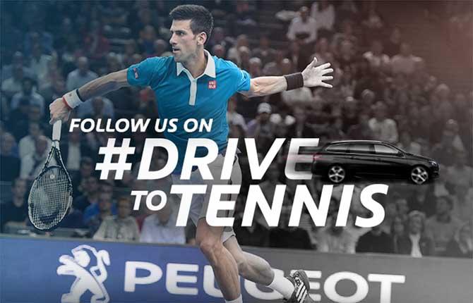 Internazionali di tennis, il conto alla rovescia Peugeot